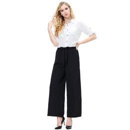 $enCountryForm.capitalKeyWord UK - 2019 New Fashion Women's Cotton Linen Long Wide Leg Pants Hip Hop Loose Harem Pants for Girl