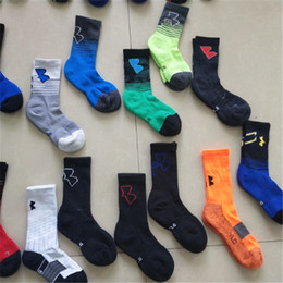 Wholesale Brand U A Men Kids Socks Under Sports Basketball Stockings Children Cotton Screw Mid calf Sock Boys Girls Hosiery Winter Autumn Sock C62907