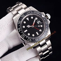 $enCountryForm.capitalKeyWord NZ - Cheap New Model GMT II Black Dial 116710LN-78200 Automatic Mechanical Mens Watch 116710LN Black Ceramic Bezel SS Steel Band Sapphire Watches