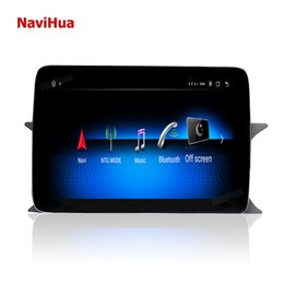 touch screen gps system UK - Navihua 8.4 inch Android 10.0 touch screen for SLK 2010-2020 audio car dvd player radio gps navigation multimedia system