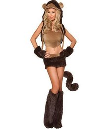 panda woman costume Australia - Halloween funny bunny girl fox Little Devil bear cosplay christmas day Cute animal panda penguin Cosplay Costumes