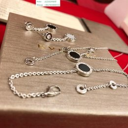 $enCountryForm.capitalKeyWord NZ - Perfect 2019 New Fashion Simple Small Model Couple Hand Jewelry Wholesale Girls Charm Bracelets Silver Plated For Women