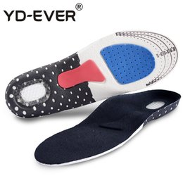 $enCountryForm.capitalKeyWord NZ - Sport Running Silicone Gel Insoles for feet Man Women for shoes sole orthopedic pad Massaging Absorption arch support