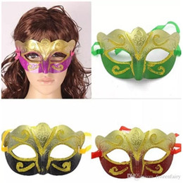 $enCountryForm.capitalKeyWord Australia - Party Mask With Gold Glitter Mask Venetian Unisex Sparkle Masquerade Venetian Mask Mardi Gras Costume Half Masks Halloween Toys 2018031713