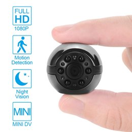 Micro Motion Cameras Australia - Mini DVR Camera HD Camcorder 1080P Night Vision Video Recorder Camera Micro DVR Cam Infrared Night Vision Motion Detection