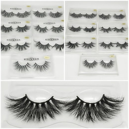 EyE c online shopping - NEW mm D Mink Eyelashes Styles D False Eyelashes Hot Natural Long Mink Eye Lashes Eye Makeup High Volume Soft Eyelash
