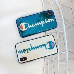 Designs For Iphone Cases Australia - Wholesale Fashion Design Phone Case for Iphone XSMAX XR X 6 6S 6plus 6S Plus 7 8 7plus 8plus Designer Shockproof Protective Back Cover