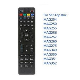 mag set top box Canada - For Mag250 Mag322 W1 Universal Remote Control Replacement IR Smart Remote Controller For Mag 254 255 260 261 270 TV Set Top Box