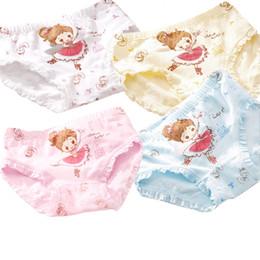 $enCountryForm.capitalKeyWord Australia - Children's Cotton Underwear Cartoon Printed Girls Panties Kids Soft Cute Short Briefs Underpants For 3-9 Years