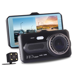 "$enCountryForm.capitalKeyWord NZ - 2Ch car DVR driving video recorder dual lens car camera front 170° rear 120° 4"" screen full HD 1080P G-sensor motion detection"