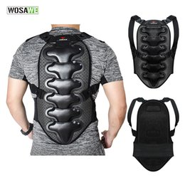 $enCountryForm.capitalKeyWord NZ - WOSAWE MTB Bike Motorcycle Back Protectors Guard Skate Chest Back Support Double Layer Protective Gear Spine Protect