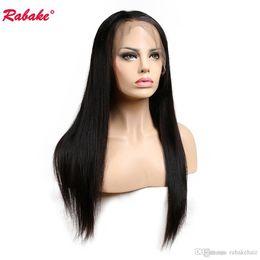 $enCountryForm.capitalKeyWord Australia - Virgin Remy Straight Full Lace Human Hair Wigs Rabake Brazilian Peruvian Raw Indian Malaysian Cuticle Aligned Full Lace Wig for Women