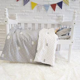 Ruffled linen bedding online shopping - Promotion Crib bedding set baby crib bed linen For Girls girls baby Bedding set berco Duvet Cover Sheet Pillowcase