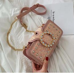 $enCountryForm.capitalKeyWord Australia - Newest Popular Women Lady Chain Shoulder Bag Luxury Sequins set auger female Satchel Clutch Bag Fashion Trend Crossbody and Messenger bag