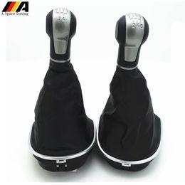 Seat StickS online shopping - 5 Speed Manual Car Gear Shift Knob Shifter Lever Stick Pen Gaiter Boot Cover Case for Seat Altea Leon II Toledo III