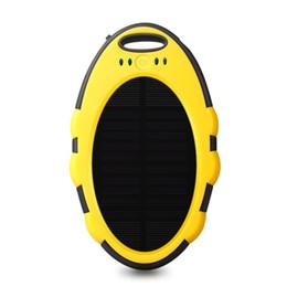 en gros logo personnalisé batterie rechargeable chargeur solaire mini portable IP 65 étanche énergie solaire énergie banque 5000 mah