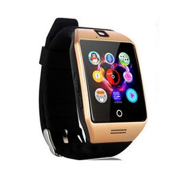 $enCountryForm.capitalKeyWord Australia - Q18 smart watch Bluetooth smart watch Android phone supports SIM card camera to answer the phone ,and can set various language huawei xiaomi