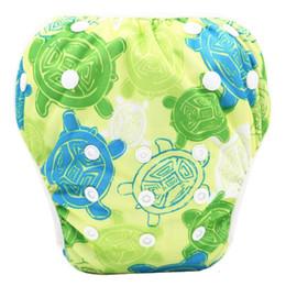 ffdddfb22 Bebé pañal de natación portátil saludable recién nacido a prueba de fugas  pañales ajustables pañales para bebés reutilizables tamaño libre 40 colores