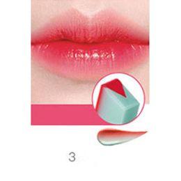 korean lip tints 2019 - Matt Lipstick Pencils Tint Lip Women Beauty Makeup Women Makeup Tool Gradient Color Fruit Smell Korean Style Waterproof