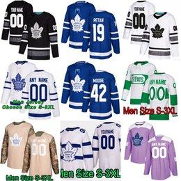 a95512732de 19 Nic Petan Toronto Maple Leafs Trevor Moore John Tavares Mitch Marner  Matthews Zach Hyman Nazem Kadri Nikita Morgan Rielly Hockey Jerseys