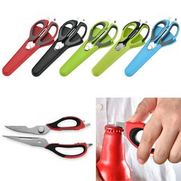 Kitchen Scissors Chicken Australia - Multifunction High Quality Kitchen Scissors Knife For Fish Chicken Household Stainless Steel Multifunction Cutter Shears Cooking Tools