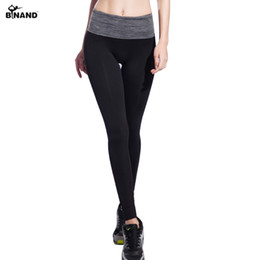 Discount new mix leggings - BINAND 2017 New Women Yoga Pants Fitness Running Gym Sportswear Breathable Bodybuilding Workout Elastic for Women Leggin