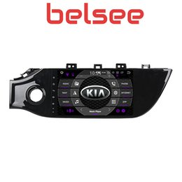 "kia rio dvd gps 2019 - Belsee 9"" Octa COre PX5 Ram 4G Rom 64G Android 9.0 Car Radio GPS Navigation Multimedia Head Unit for Kia Rio K2 Sed"