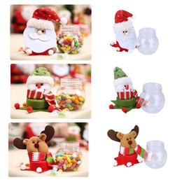 $enCountryForm.capitalKeyWord Australia - Christmas Candy Can Christmas Sugar Holder Money Boxes Party Table Decor Sugar Storage Box Candy Bottle Can