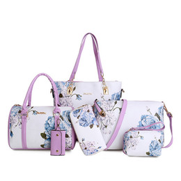 $enCountryForm.capitalKeyWord Australia - Summer New Doodle Child Mother Bag Six Piece Set Of Hand Painted Cross Bag
