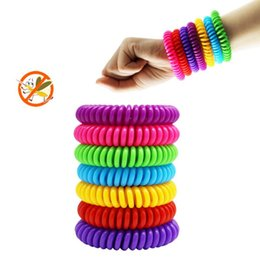 Wholesale Mosquito Repellent Wristband Bracelets Pest Control Insect Protection for Adult Kids Outdoor Anti Mosquito Wrist band LX7616