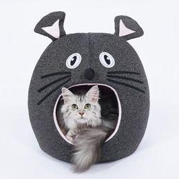 $enCountryForm.capitalKeyWord Australia - Mice Shape Cute Pet Cat Kitty Bed House Puppy Mini Pet Dog Bed Mat Cat Sleeping Bag Tunnel Cave Portable Kennel