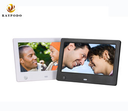Raypodo 8 Inch 1024 * 768 Resolution Full HD Digital Photo Frame With Black And White Color on Sale