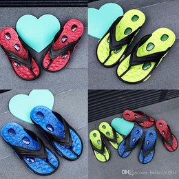 $enCountryForm.capitalKeyWord Australia - Designer sandals Casual men slippers Summer Outdoor Leisure beach Slippers trend lightweight Air cushion massage flip flops best quality