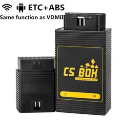 3g For Android Tablet Australia - AUTOOL CS BOX OBDII Auto Diagnostic Tool ETC Airbag ABS PDF Key Coding Full System WiFi For Android Tablet PC Smart Phone