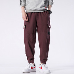 $enCountryForm.capitalKeyWord NZ - M-4XL 5XL 2019 Spring Track Pants Men Sweatpants Mens Joggers Pants Cargo Camo Tactical Harem Spring Pantaloni Uomo