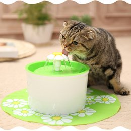 water fountains indoor plastic Australia - Pet Automatic Drinking Fountain Dog Cat Puppy Drinker Bowl Feeders Electric Water Fountain Dispenser Pet Supplies product