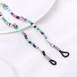 eyeglasses chain sunglasses Australia - 1pc New Fashion Women glass Beaded Eyeglass Chains Sunglasses Reading Glasses Chain Eye wear Cord Holder neck strap Rope