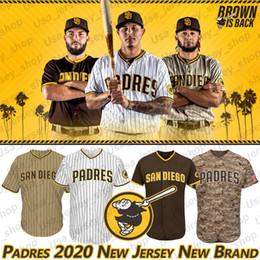 Tony gwynn jerseys online shopping - San Diego Padres Jerseys Fernando Tatis Jr Manny Machado Tony Gwynn Eric Hosmer New Brand Brown Is Back Custom