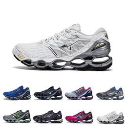 d5f59a108 New Mizuno Wave Prophecy 7 Mens Designer Running Shoes Original Mizunos 7s Men  Trainers Sports Sneakers Size 36-45 Wholesale Drop Ship