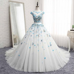 $enCountryForm.capitalKeyWord Australia - New Designer Ball Gown Quinceanera Dresses Sweet 16 Dress Vestidos De 15 Vestido Debutante Pageant Prom Dresses Real Pictures