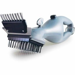 $enCountryForm.capitalKeyWord NZ - Barbecue Stainless Steel Cleaning Brush Outdoor Grill Cleaner With Steam Power Bbq Accessories Cooking Tools