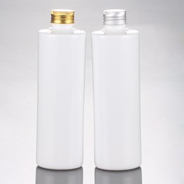 Pets medicine online shopping - 20pcs ml white empty PET cosmetic liquid bottles cc medicine plastic containers with aluminum screw cap