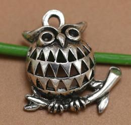 Silver Eagle Bracelet Australia - Hollow Eagle Charm Antique Silver Animal Pendants For Handmade DIY Bracelet Necklace Fashion Jewelry Alloy Making Gifts Accessories 100PCS