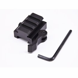 $enCountryForm.capitalKeyWord Australia - 20 mm Picatinny Weaver Rail Base 3 slots QD Quick Release Riser Scope Mount Adapter Free Shipping