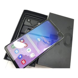 full frame camera UK - New Full screen 6.4 inch Surface s10 plus 1G RAM 8GB ROM andriod 6.0 smartphone HD Curved Metal Frame 3G WCDMA