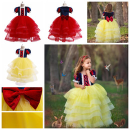 $enCountryForm.capitalKeyWord Australia - 5-14 years big children halloween costume dress snow white ball gown for girls kids christmas party princess tutu skirts