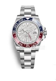 $enCountryForm.capitalKeyWord Australia - Luxury Greenwich II man's automatic mechanical watch m126719blro-0002 meteorite face GMT folding oyster type insurance buckle Greenwich