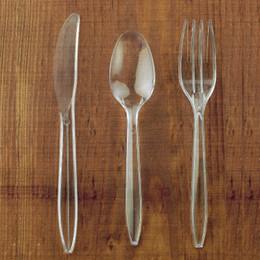 $enCountryForm.capitalKeyWord Australia - Behogar 18pcs Set Disposable Tableware Plastic Knife Fork Spoon Cutlery Set for Birthday Wedding Party Cake Ice Cream Coffee