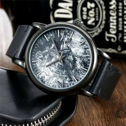 Discount nice watch brands - Fashion Mens Sport Wrist Watch Top Brand Leather Strap Quartz Nice Movement Gift Time Clock Wacth Relojes Para Hombre Ho