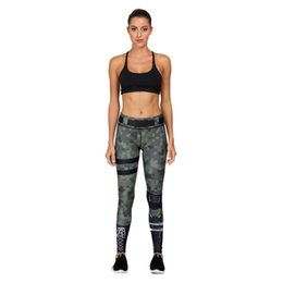 Ladies Gym Trousers Australia - Women Leggings Grew Mix Green Hero Series 3D Graphic Print Girl Skinny Stretchy Yoga Wear Pants Lady Gym Fitness Pencil Fit Soft Trousers